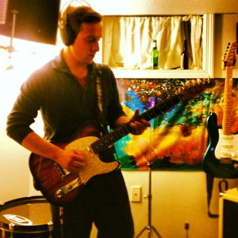 Andrew Tracking Electric Guitar